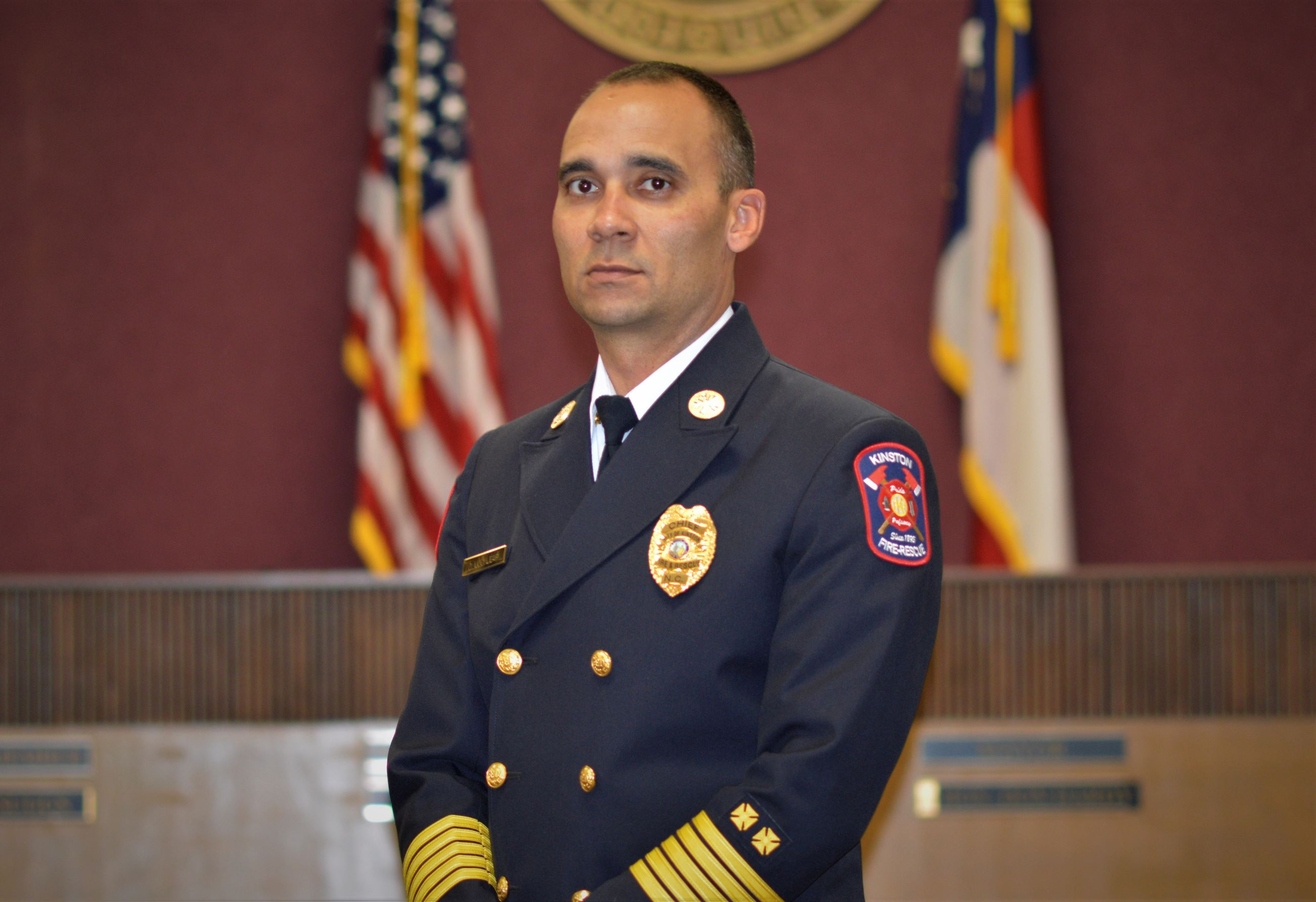 Chief Damien Locklear