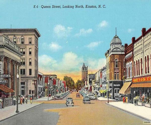 Kinston Historic postcard