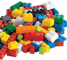 Clip art of pile of Legos